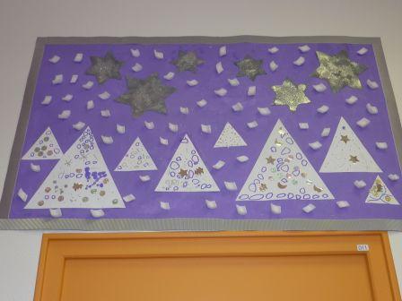Bien-aimé Décorations de Noël - école maternelle Les Marins WT44